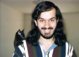 Omar and Sparky kitten 1995